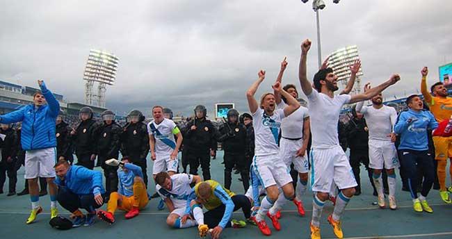 Rusya liginde şampiyon Zenit