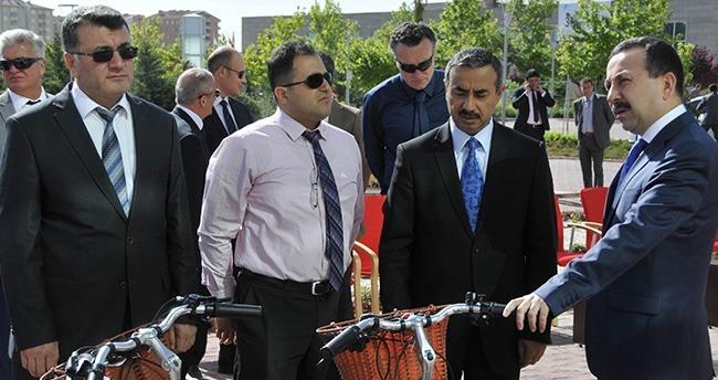 Selçuk'a Halk Sağlığı Müdürlüğü'nden 100 Bisiklet