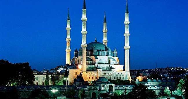 Selimiye Camisi yeniden ışıklandırılacak
