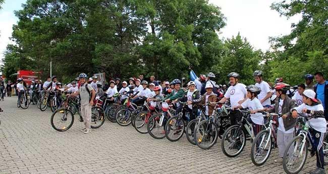 Seydişehir'de bisiklet şenliği