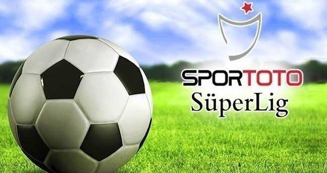 Spor Toto Süper Lig'de 32. haftanın programı