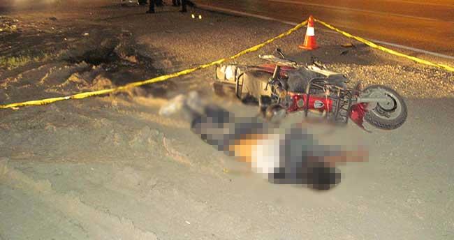Tır şarjlı bisiklete çarptı: 1 ölü, 1 yaralı