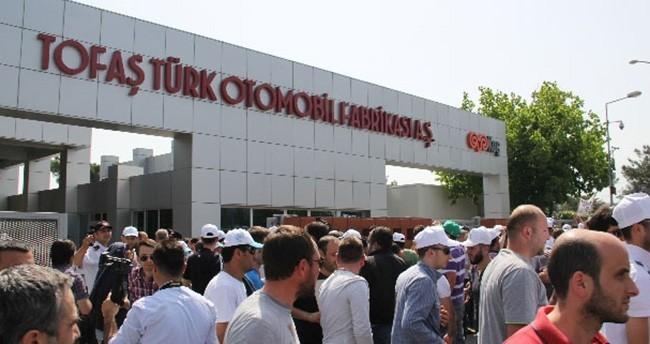 Tofaş'tan eylem yapan işçilere son uyarı