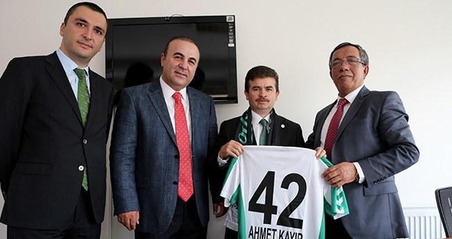 Torku Konyaspor İcra Kurulundan AA'ya ziyaret
