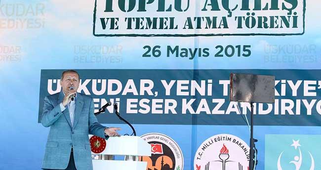 Üsküdar Belediyesi toplu açılış ve temel atma töreni