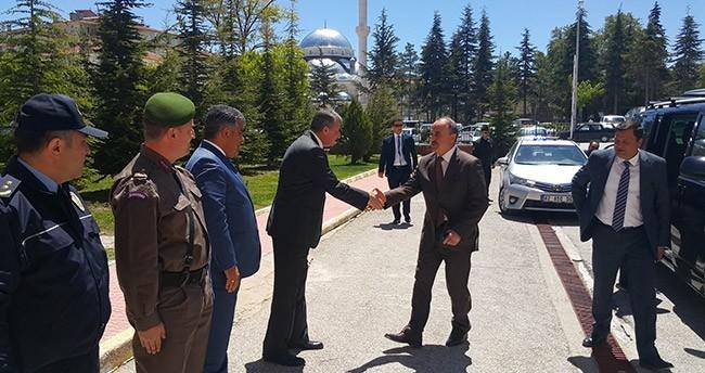 Vali Erol'dan Ereğli'ye ziyaret