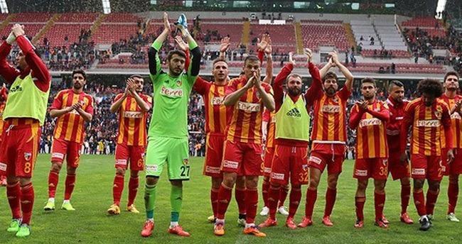 Ve Kayserispor yeniden Süper Lig'de!
