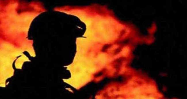 Zonguldak'ta demir çelik fabrikasında yangın