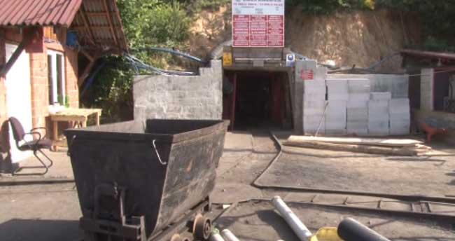 Zonguldak'ta özel maden ocağındaki göçük