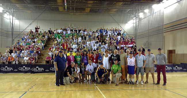 1. Avrupa Veteranlar Basketbol Şampiyonası, Gloria Sports Arena'da
