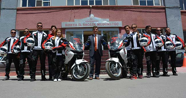 112 Motorize ekipleri hayat kurtarıyor