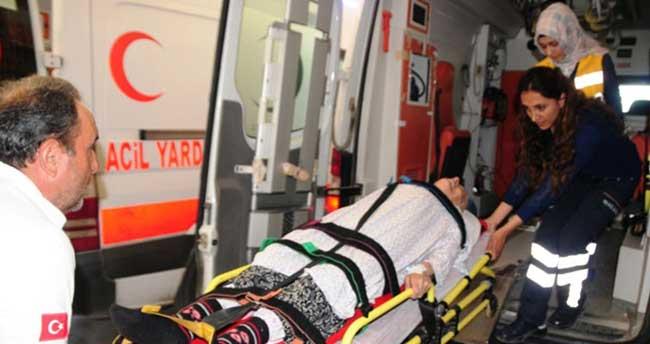 112 yaşındaki hastaya 112'den acil müdahale
