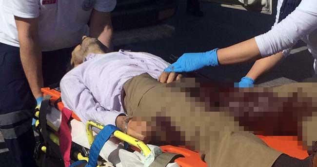 Adliye çıkışında silahlı saldırı: 1 yaralı