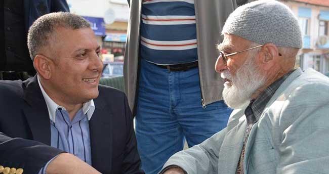 Ak Parti heyeti Ladik'te vatandaşlarla buluştu