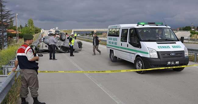 Amasya'da trafik kazası: 2 ölü, 2 yaralı
