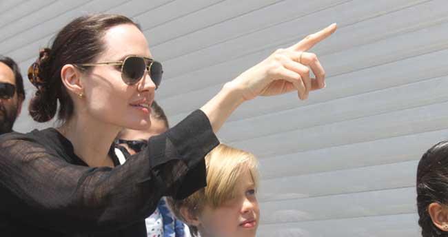Angelina Jolie'den Türk halkına teşekkür