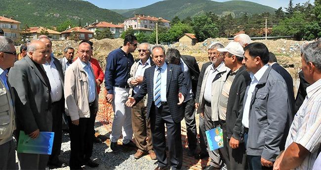 Başkan Akkaya'dan Muhtarlara Yatırım Gezisi