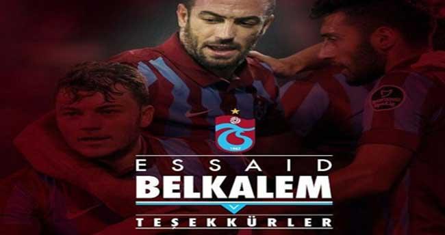 Belkalem Trabzon'dan ayrıldı