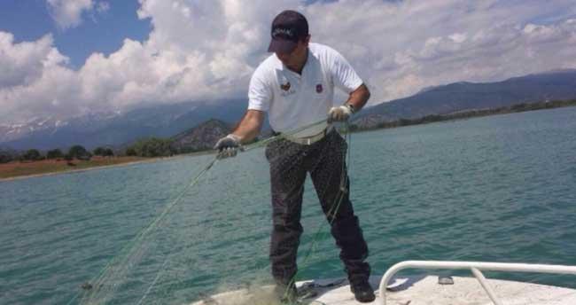 Beyşehir Gölü'nde kaçak av ile mücadele