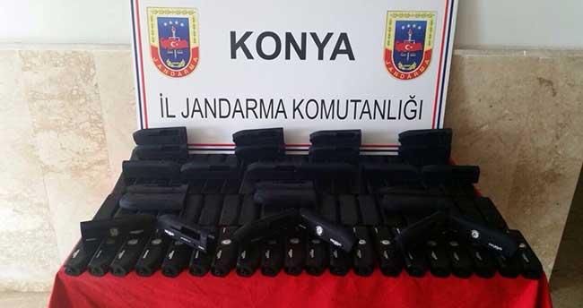 Beyşehir'de yasa dışı av tüfeği üretimine Jandarma engeli