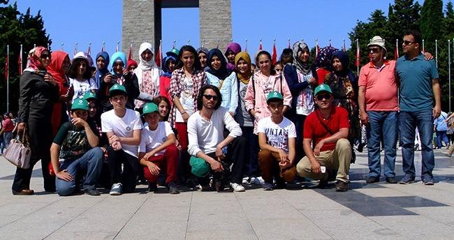 Bilgi Merkezi Öğrencileri Çanakkale'de