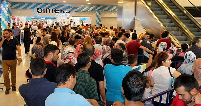 Bimeks'ten Konya'ya Yeni Mağaza