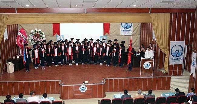 Cihanbeyli'de öğrencilerin mezuniyet sevinci