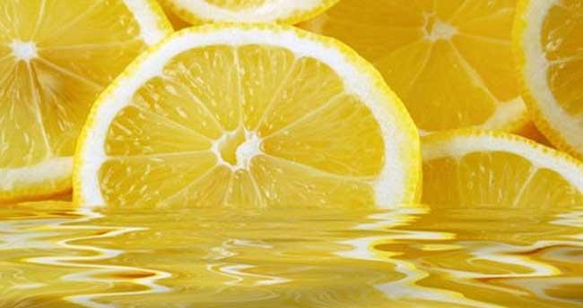 Ciltte limon suyu mucizesi!