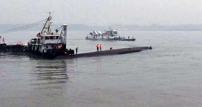 Çin'de gemi faciasında ölü sayısı 18'e yükseldi