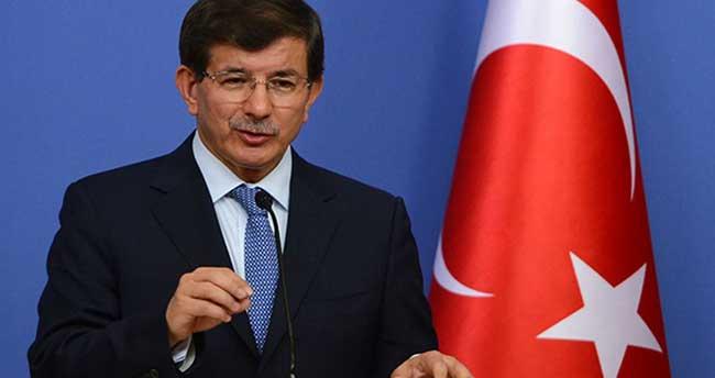Davutoğlu il başkanları toplantısında konuşuyor