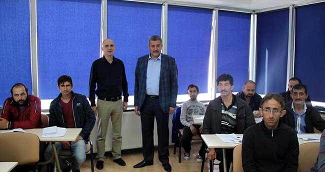 Engelli vatandaşların eğitimleri tamamlandı