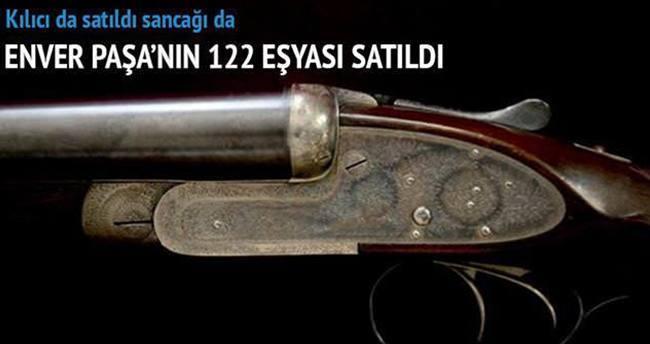 Enver Paşa'nın tüfeğine 225 bin lira