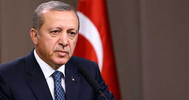 Erdoğan: 'Bunlar yalandır iftiradır'