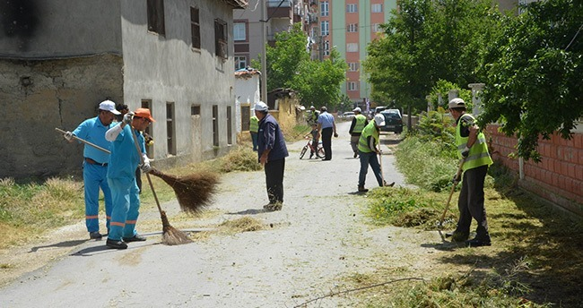 Ereğli'de Sokaklar Temizleniyor