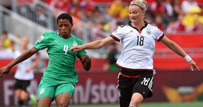 FIFA Kadınlar Dünya Kupası'nda tarihi skor