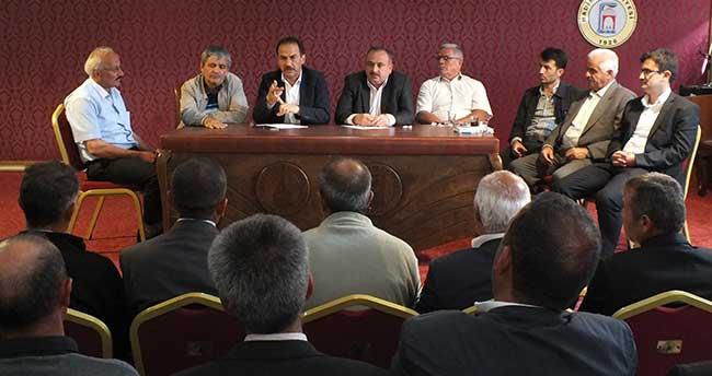 Hadim Belediye Başkanı Hadimioğlu, muhtarlarla buluştu
