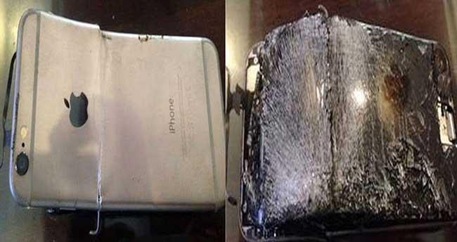 iPhone 6 konuşurken patladı!