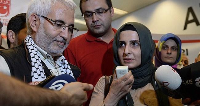 İsrail'de gözaltına alınan 7 kişi yurda döndü