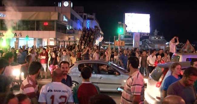 İzmir'de şampiyonluk coşkusu