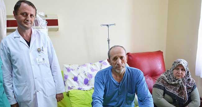 Karaciğerinde unutulan gazlı bez 34 yıl sonra çıkarıldı