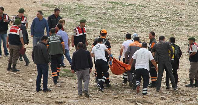 Karaman'da baraj gölünde kaybolan genç