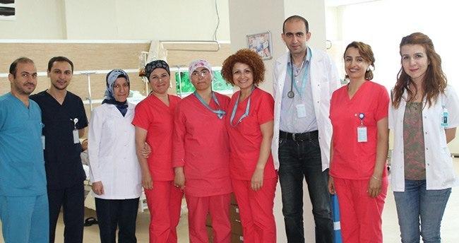 Karaman'da diyaliz ünitesinden 5 yıldızlı hizmet