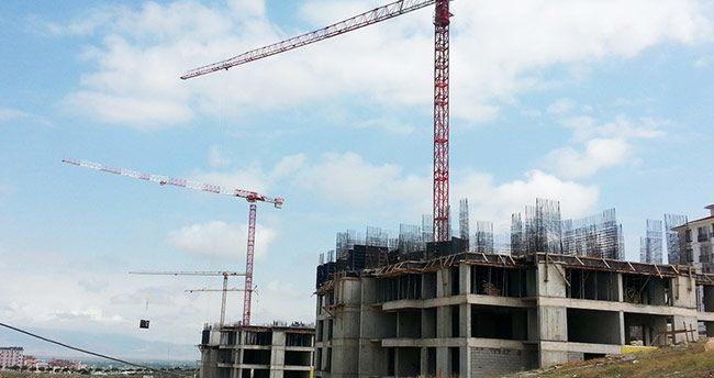 Karaman'da Piri Reis Vadisi'nde binalar hızla yükseliyor
