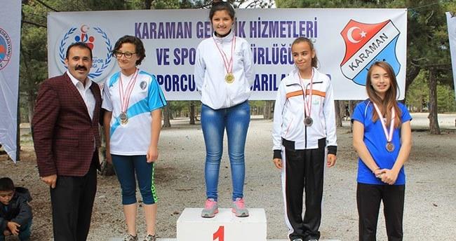 Karaman'daki Oryantiring şampiyonası sona erdi