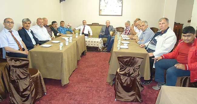 Karapınar'da Esnaf ve Sanatkarlar Kredi ve Kefalet Kooperatifi toplantısı