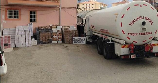 Kırşehir'de sigara kaçakçılığı
