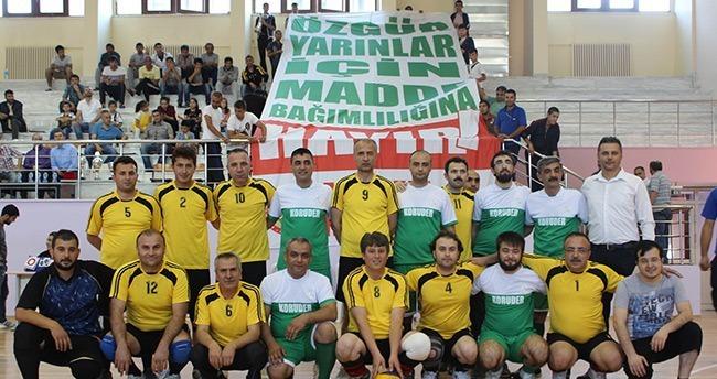 Konya 112 Voleybol Turnuvasında Şampiyon