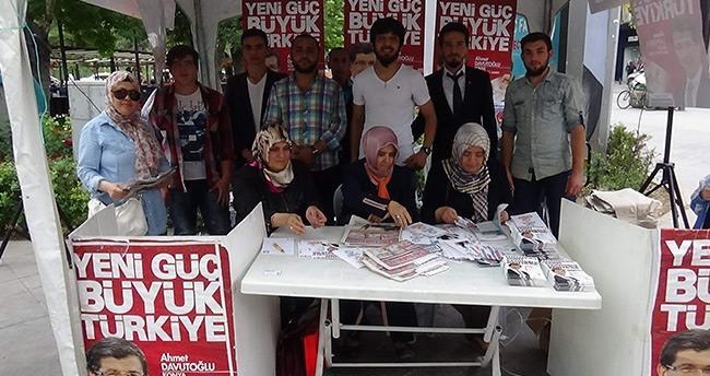 Konya Ahmet Davutoğlu Gönüllüleri Platformu'ndan Başbakan'a Destek