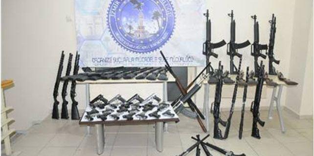 Konya İzmir Hattı Silah Kaçakçılığı