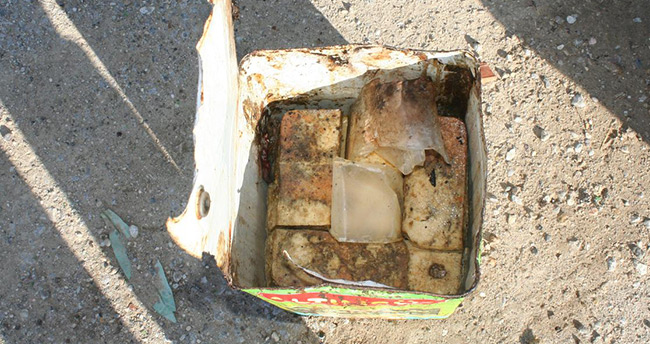 Konya'da 13 ton tarihi geçmiş peynir ele geçirildi